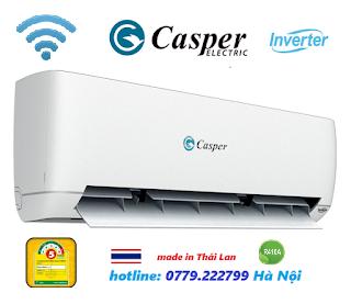Điều hòa Casper 9000 BTU inverter Smart Wifi