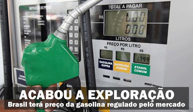 Resultado de imagem para PREÇO DA GASOLINA COM DILMA E COM TEMER