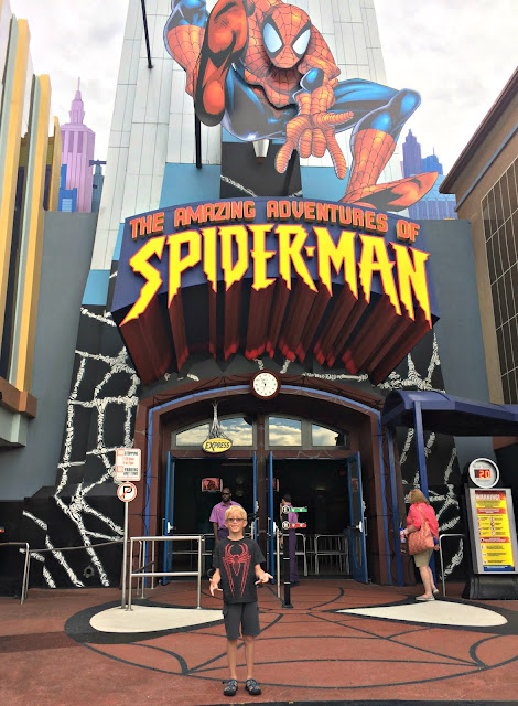 spider man ride universal studios