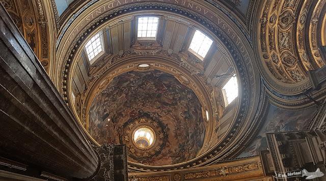 Igreja de Sant'Agnese in Agone, Piazza Navona, Roma, Itália
