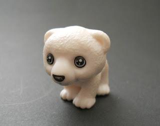 cachorro de oso polar de huevo kinder sorpresa TR013