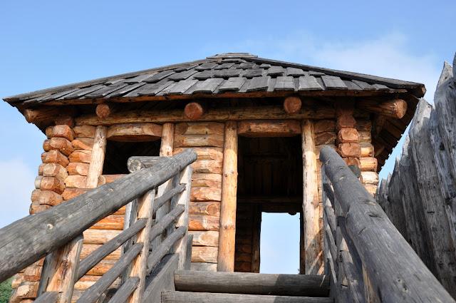Kalisz Zawodzie - skansen archeologiczny grodzisko