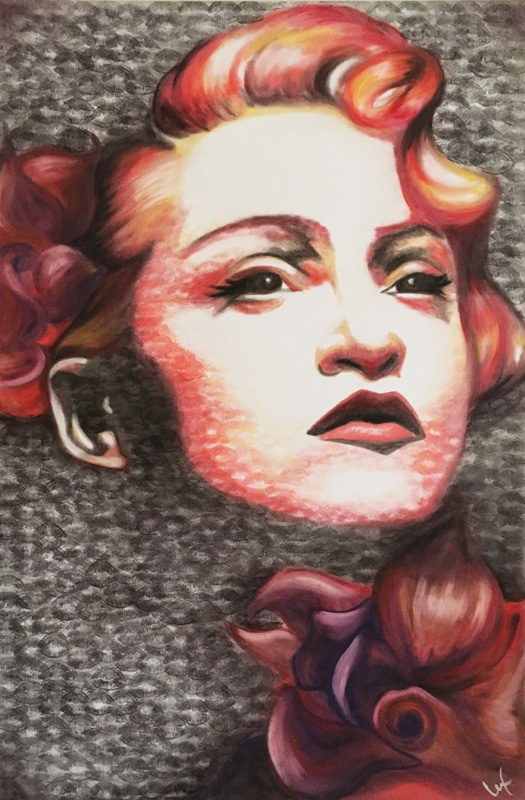 02-Madonna-Alexis-Fraser-Portraits-Painted-with-Lipstick-and-Kisses-www-designstack-co