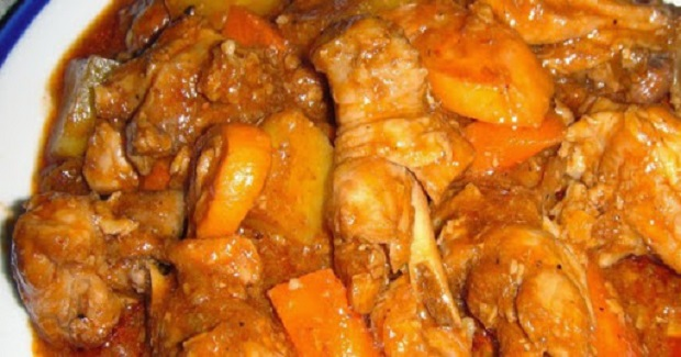 Kalderetang Manok Recipe