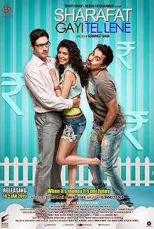 Sharafat Gayi Tel Lene (2015) Hindi Movie Poster