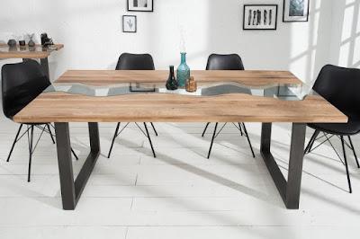 dizajnový nábytok Reaction, nábytok do jedálne, nábytok z dreva a skla