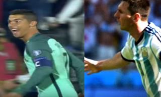 ميسى ورونالدو يحملان آمال الأرجنتين والبرتغال أمام الإكوادور وسويسرا