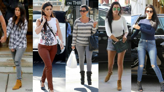 os melhores looks de Kourtney Kardashian