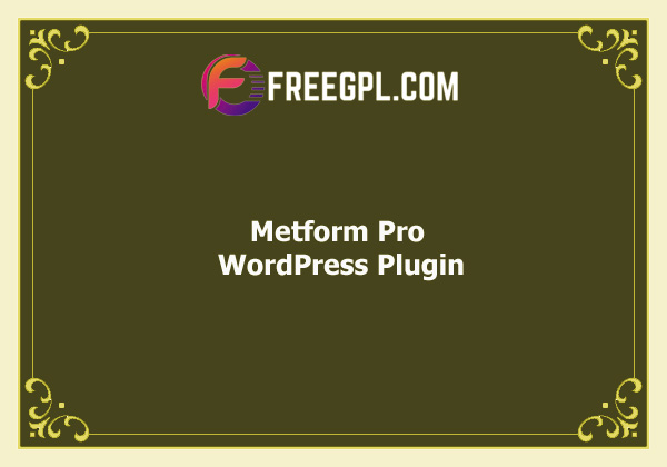 Metform Pro - Advanced Elementor Form Builder Download Free