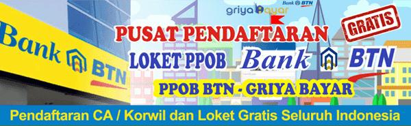 Cara Daftar Loket Pembayaran Online PDAM Bojonegoro di PPOB Griya Bayar BTN