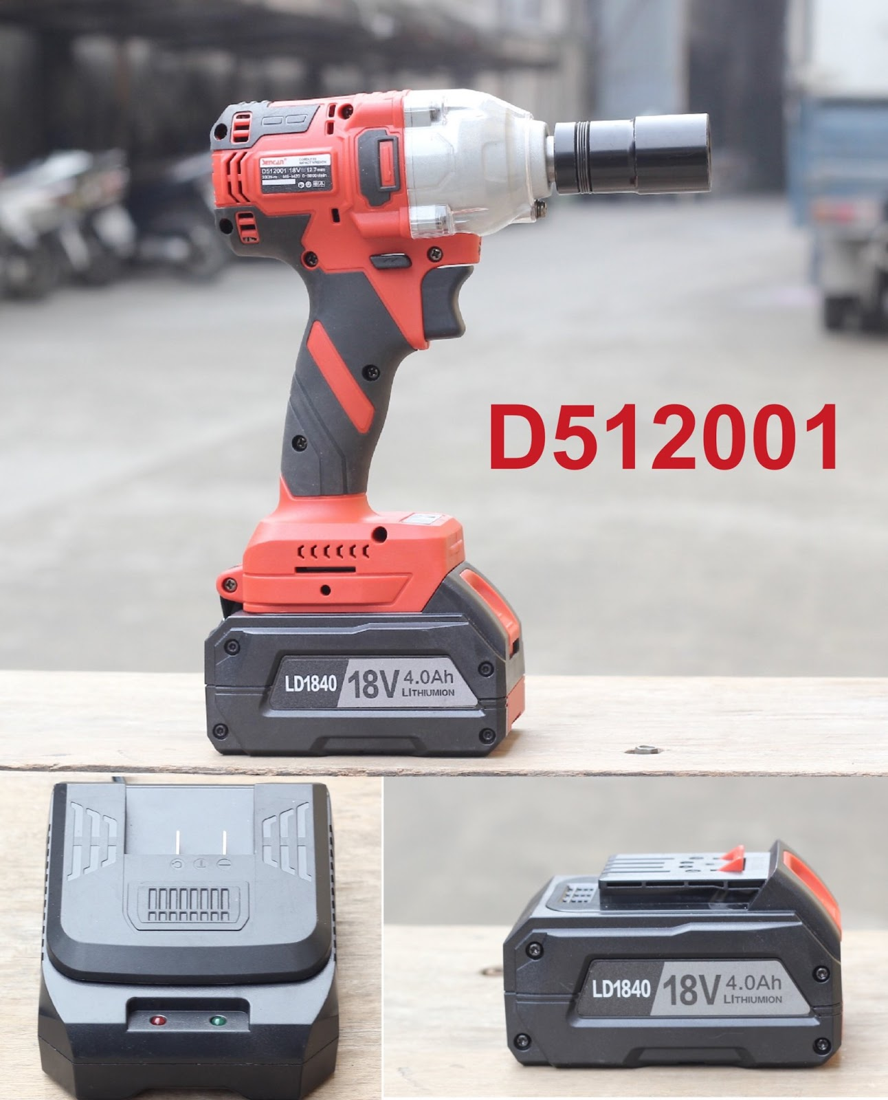 Máy vặn ốc dùng pin Sencan D512001