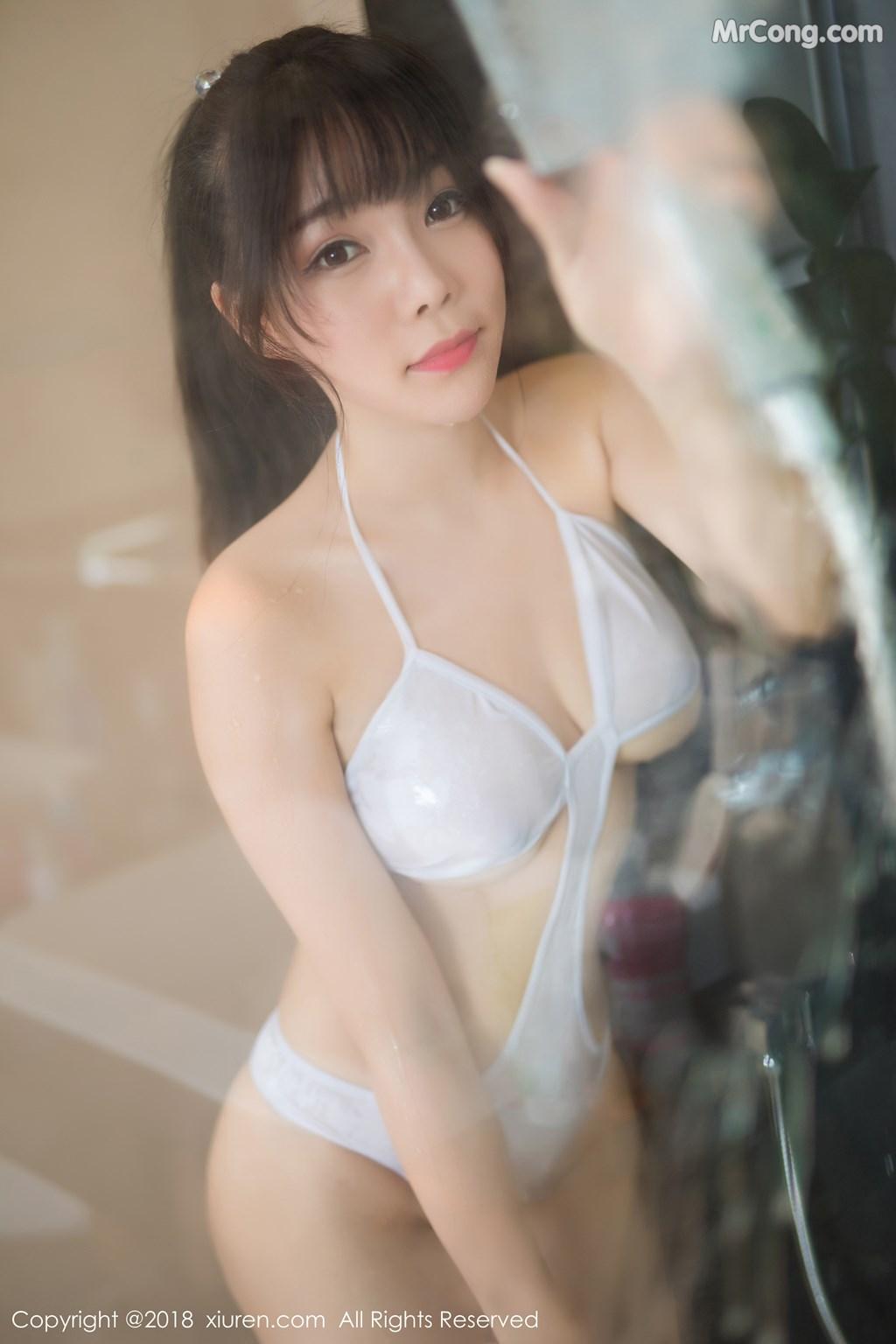Image XIUREN-No.1271-Booty-Zhizhi-MrCong.com-003 in post XIUREN No.1271: Người mẫu Booty (芝芝) (51 ảnh)