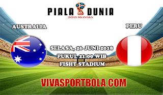 Prediksi Bola Australia vs Peru 26 Juni 2018