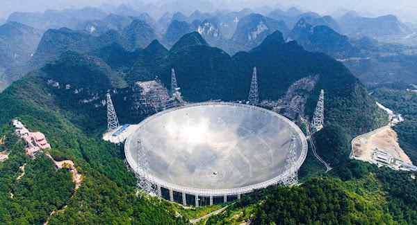 Μυστηριώδες σήμα κατέγραψε το μεγαλύτερο τηλεσκόπιο του κόσμου