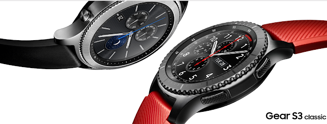 The Gear S3 has the aesthetics of a truly premium watch with advanced features built right into the watch design.