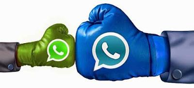 برنامج Whatsapp Plus Blue 2019 مجانا اخر تحديث