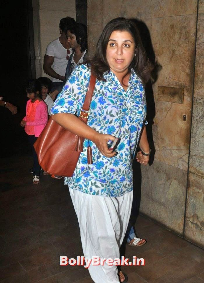 Farah Khan, 'Humshakals' Movie Special Screening Pics