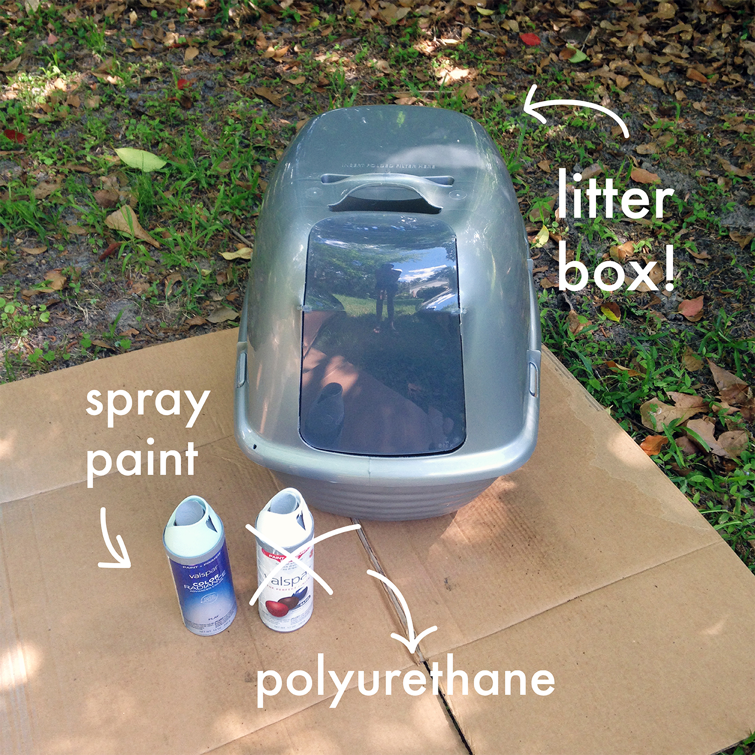 We Can Make Anything: litter box paint job