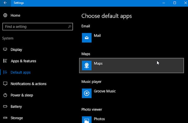 Cara Mengubah Default Aplikasi di Windows 10