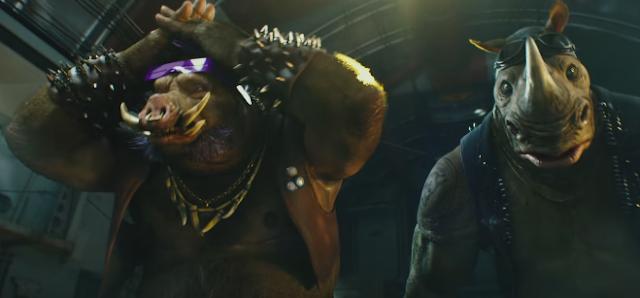 Teenage Mutant Ninja Turtles 2 (2016) Full Hindi Dubbed Movie 300MB 700MB
