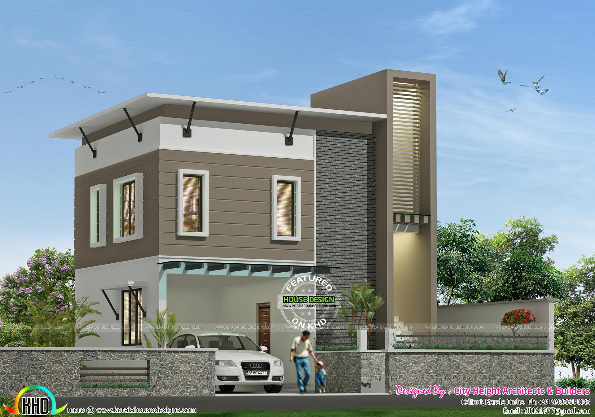 Box model house design