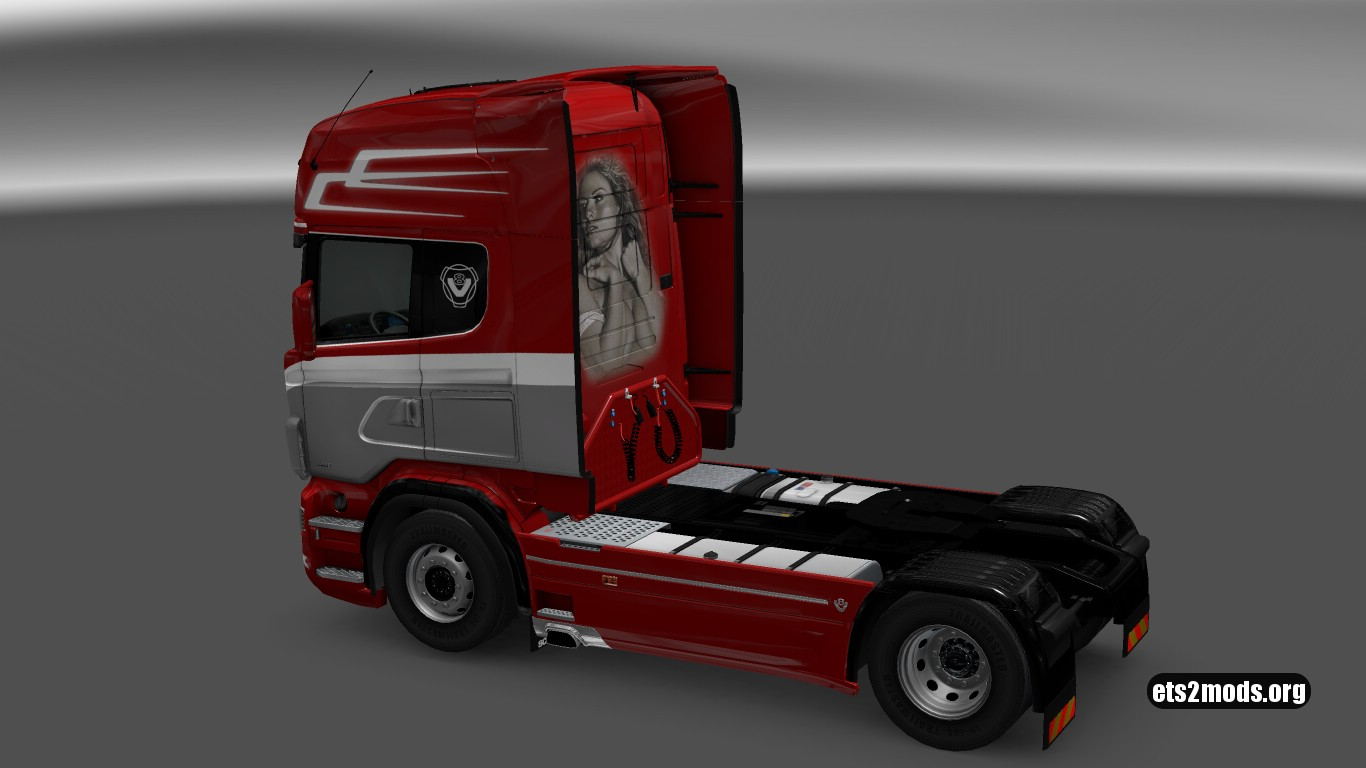Lost Boy Skin for Scania RJL