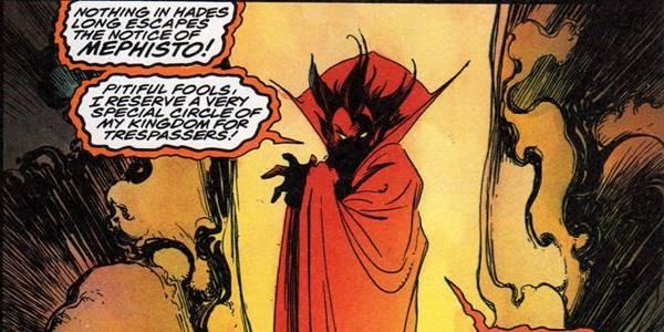 kekuatan Mephisto adalah musuh doctor strange