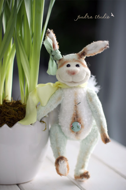 rabbit, handmade toy