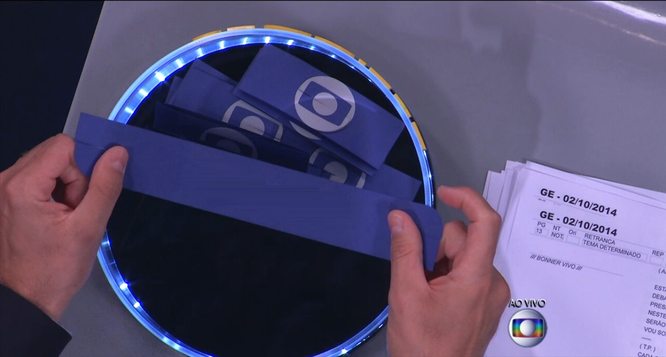 Debate na Globo nas Eleições 2014, Quinta-feira.