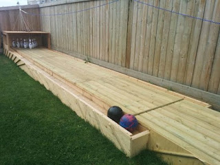 Build Your Own Backyard Bowling Alley
