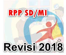 Download contoh RPP Kelas 1 2 3 4 5 6 K13 Revisi 2018