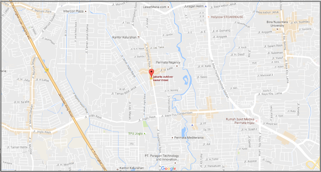 Peta Jakarta Outdoor kasur Busa Inoac Jakarta Distributor resmi kasur busa inoac 2016 2016 bekasi jakarta barat tangerang gajah tunggal inoac
