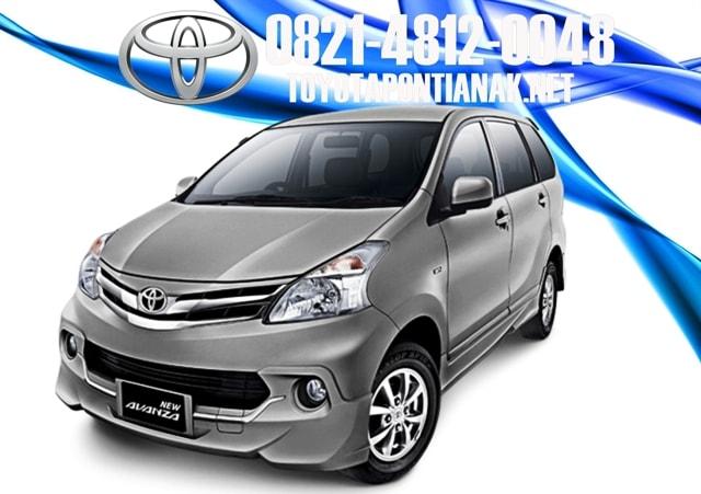 Simulasi kredit mobil Toyota AVANZA pontianak, harga toyota AVANZA pontianak, sales toyota pontianak