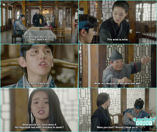 sun duk  mark 10th prince face and he was looking like a clown - Moon Lover Scarlet Heart Ryeo - Episode 12 - Review