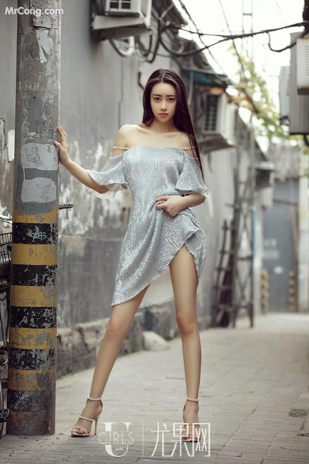 Image UGIRLS-U309-Mu-Fei-Fei-MrCong.com-052 in post UGIRLS U309: Người mẫu Mu Fei Fei (穆菲菲) (64 ảnh)
