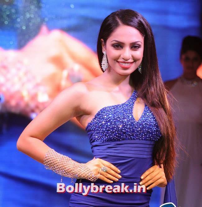 Sobhita Dhulipala, Yuvika Choudhary at Femina Sparkle Fest 2014 Fashion Show