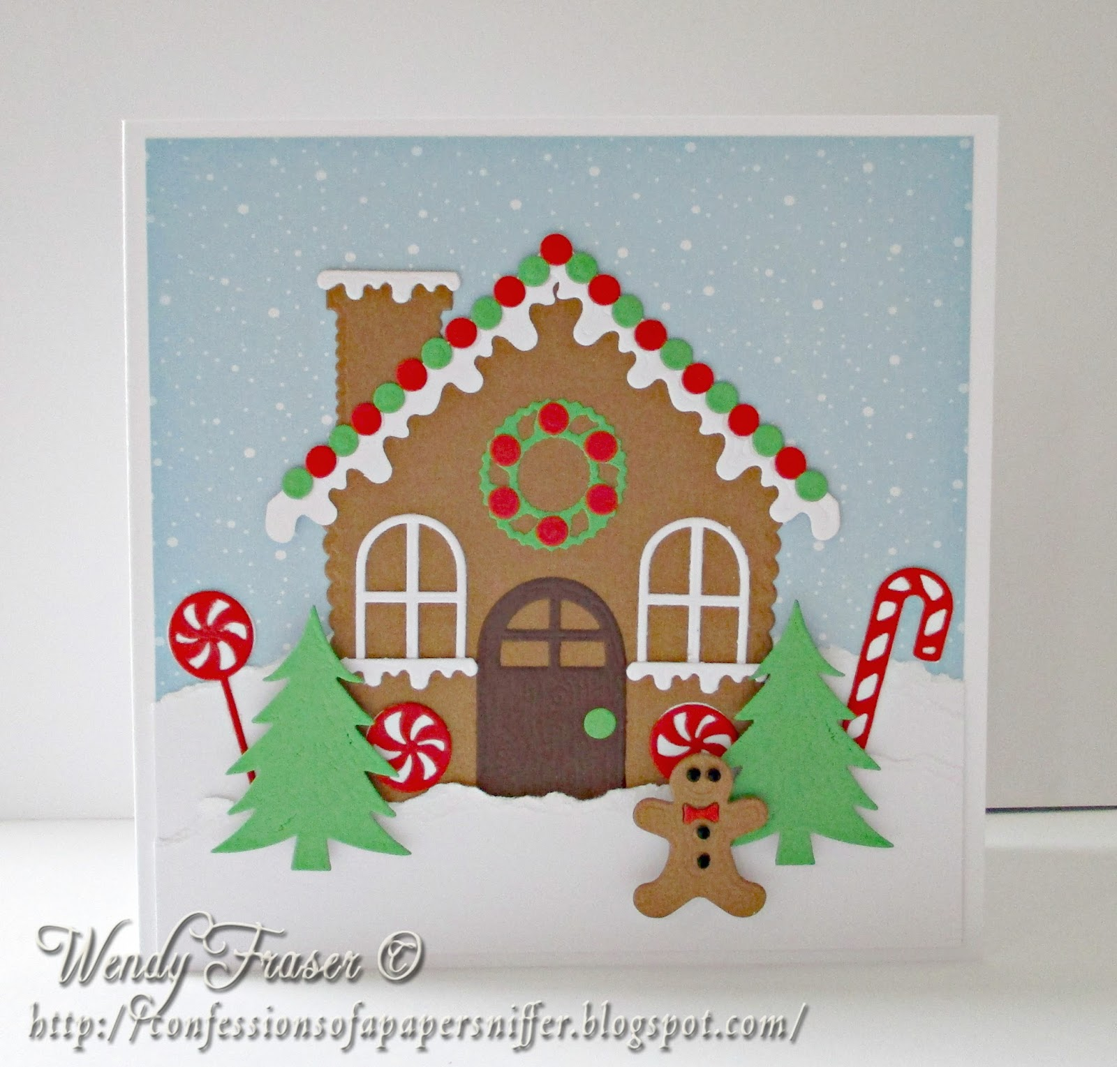 Confessions Of A Papersniffer: Gingerbread Scene