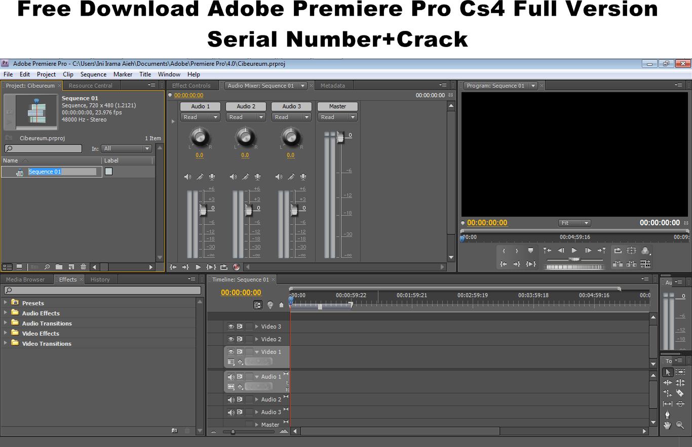 Adobe Premiere Pro CS4 Software