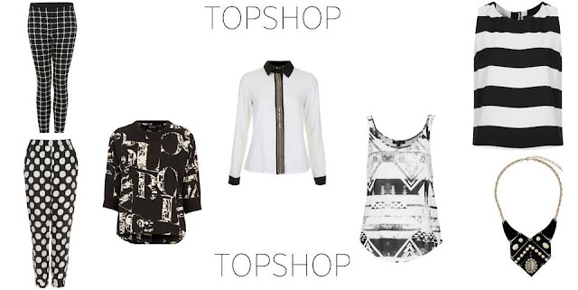 Topshop Monochrome Fashion