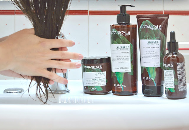 Aromaterapia per Capelli con L'Oreal Botanicals Fresh Care di MakeUp Fun