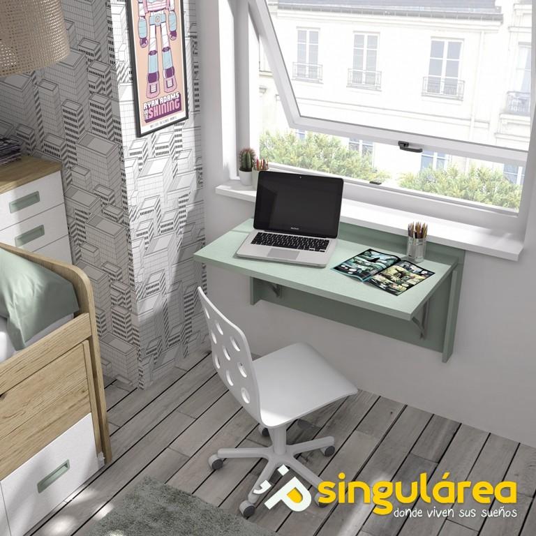 Blog dormitorios juveniles com mesas de estudio abatibles - Mesas estudio juveniles ...