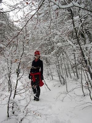 Escursione inverno Pescasseroli