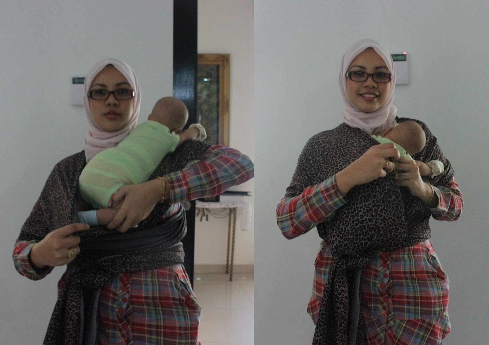 Khy Wrap Khy Wrap Tutorial Putting Your Baby In Newborn Hug Hold
