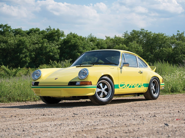 1973 Porsche 911 Carrera RS 2.7 Lightweight for sale USD 950,000 - #Porsche #Carrera #RS #Lightweight #classiccar #forsale