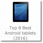 Top 8 Best Android tablets (2016)