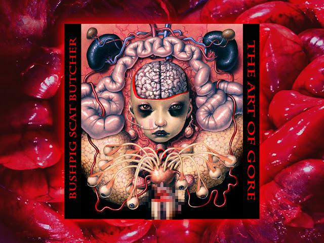 Bushpig Scat Butcher The art of Gore Horrorcore Gore Rap