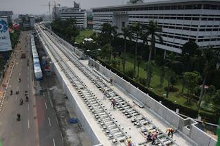 Jatuhnya Parapet MRT Langsung Diselidiki