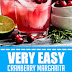 Very Easy Cranberry Margarita (Gluten Free & Vegan) #vegan #glutenfree