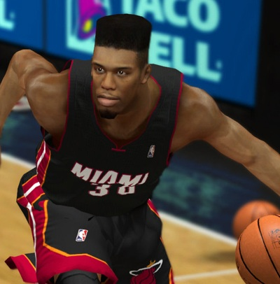 NBA 2K13 Norris Cole Flattop Hair Patch - NBA2K.ORG