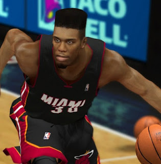 NBA 2K13 Norris Cole Flattop Hair